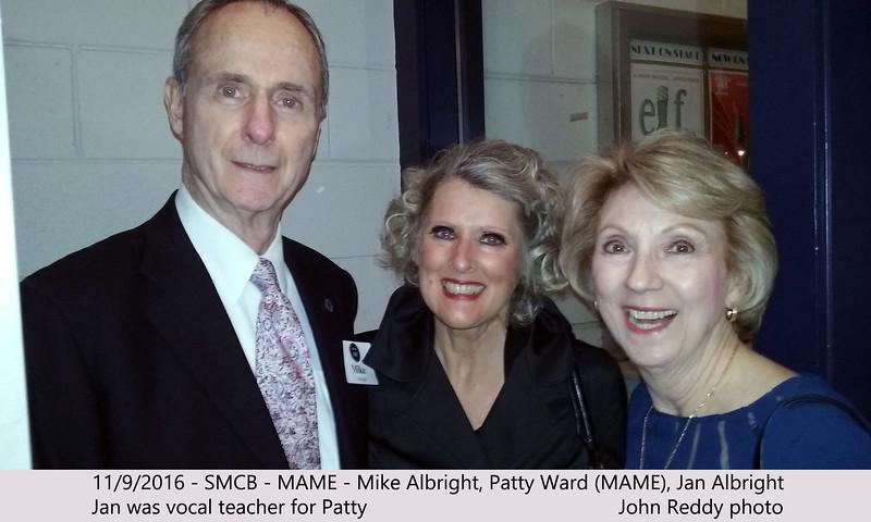 SMCB, Mame, Patty Ward