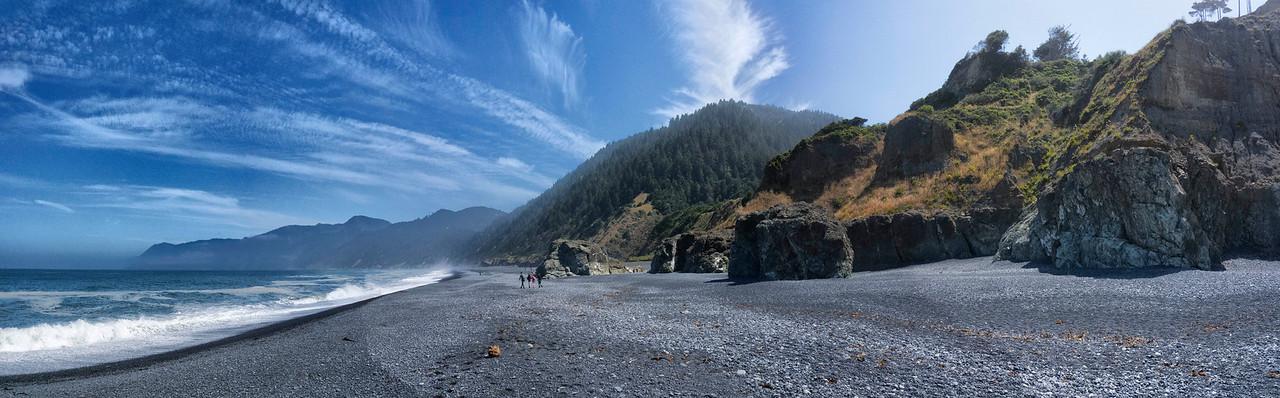 Black Sands Beach, Shelter Cove/Lost Coast, Humboldt County, Redwood Coast, California