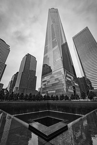 Freedom Tower and North Tower Reflecting Pool