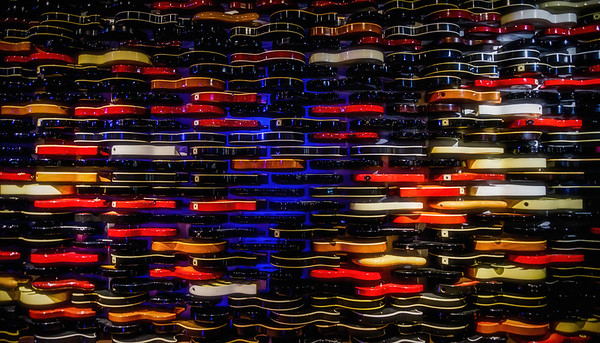 Hard Rock Wall of Guitars