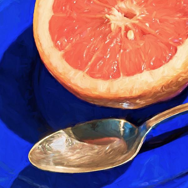 03-10-16 Blue Plate & Grapefruit