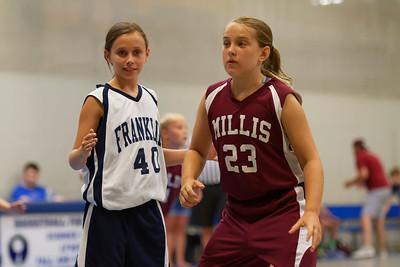 2016-07-11 - Summer Basketball - Franklin vs. Millis