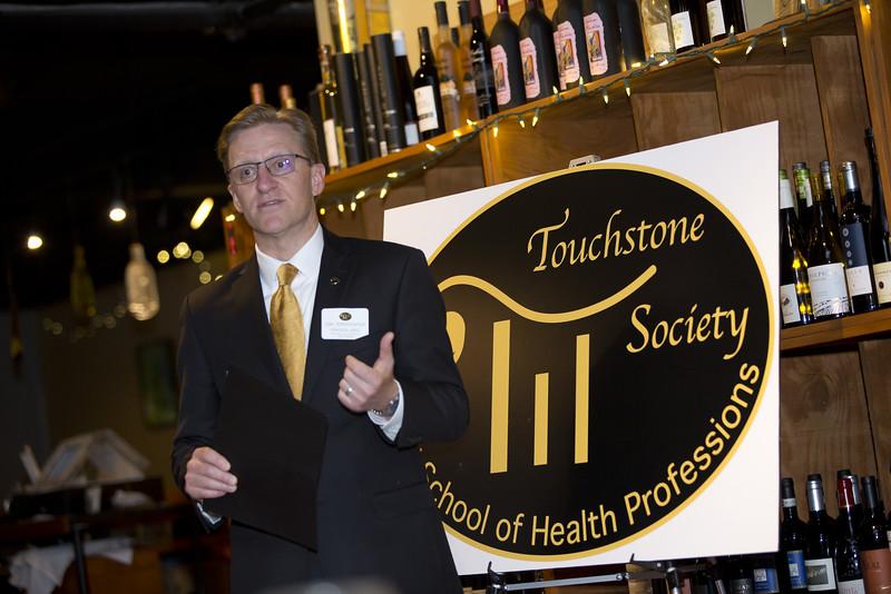 Ambassadors and donors celebrate at Touchstone Society celebration.