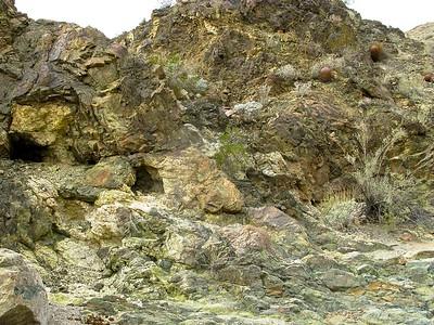 Complex rock mosaic