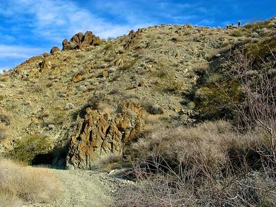 Eroded pinnacles