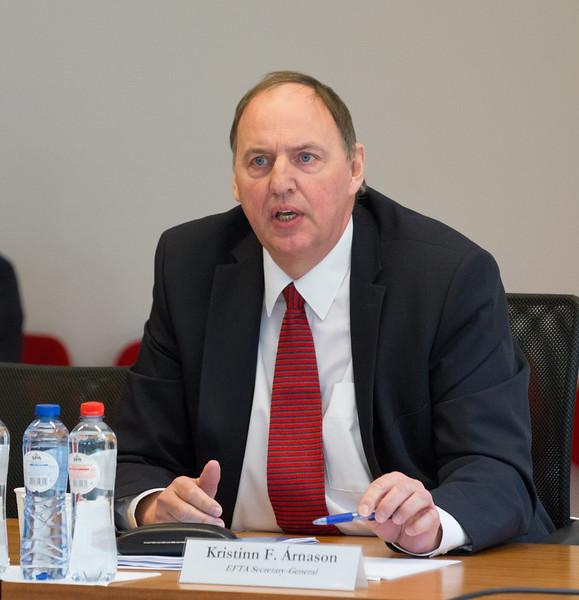 Secretary-General Kristinn F. Árnason, EFTA
