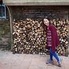Floor met een flink bos hout