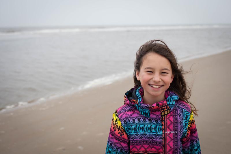 Uitwaaien op Texels strand