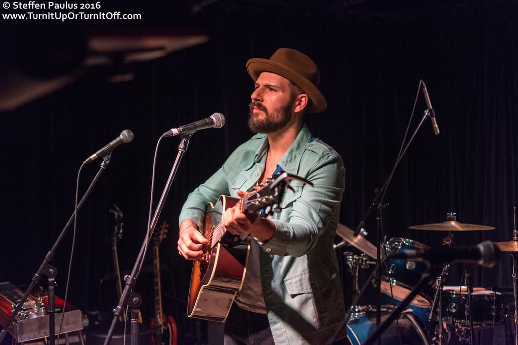 Ben Kunder @ Burdock Music Hall, Toronto, ON, 3-March 2016