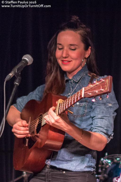 Sarah MacDougall @ Burdock Music Hall, Toronto, ON, 3-March 2016