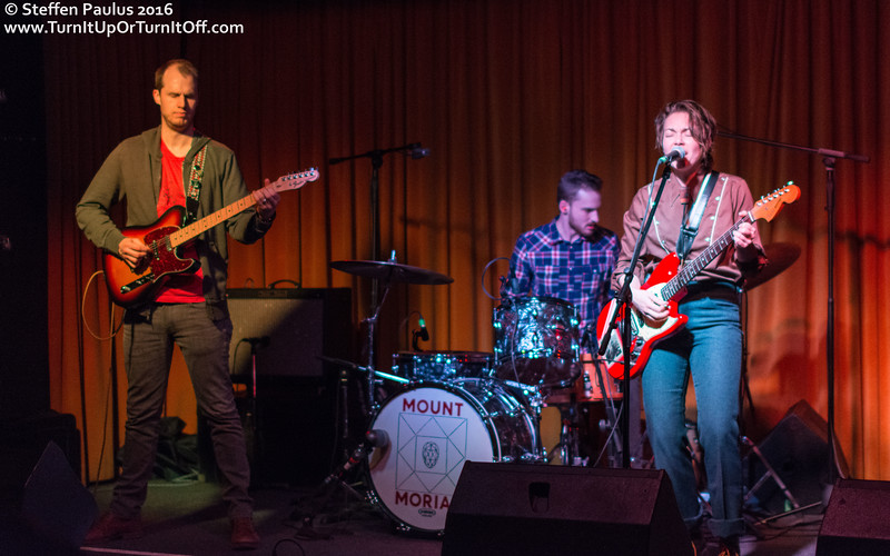 Mount Moriah @ Drake Hotel Underground, Toronto, ON, 17-March 2016