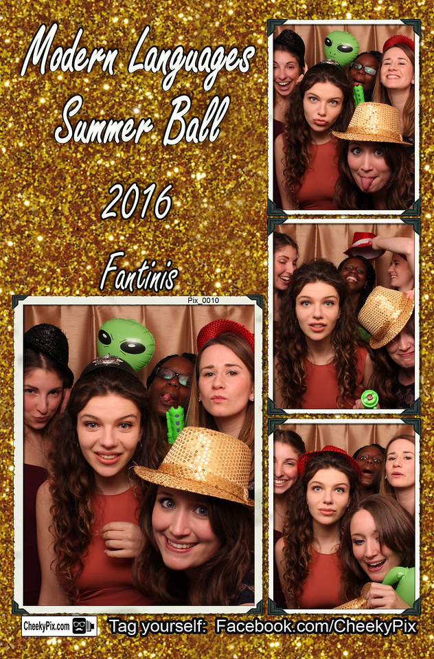 Uni Ball Night photobooth hire