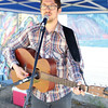Jeremy Pahl performs on Saturday at the Community Arts Council's Spring Arts Bazaar and the Prince George Potters Guild's 41st Annual Great Northern Chili Cookoff at Studio 2880. Citizen Photo by James Doyle     June 4, 2016