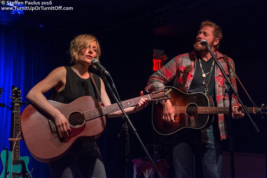 Matt Epp joins Christina Martin @ Burdock Music Hall, Toronto, ON, 9-June 2016