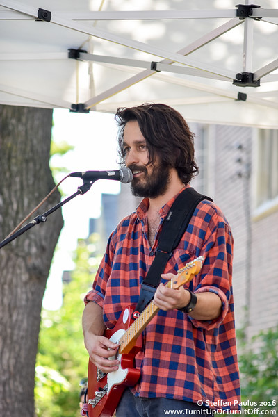 David Celia @ Roncy Rocks (Wright Avenue stage), Toronto, ON,  11-June 2016