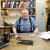 Hilliard Clare in his office at The Northern. Citizen photo by Brent Braaten   July 14 2016