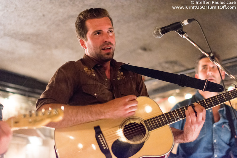 Johnson Crook @ The Dakota Tavern, Toronto, ON, 12-July 2016