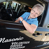Diana Meyers, volunteer of the week, drives for the Freemasons Cancer Car Program once a week this is one of many volunteer jobs she does. Citizen photo by Brent Braaten   Aug 12 2016