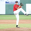 Ryan Johnson of Canadian Sidearm Nation winds up for a pitch on Friday at Citizen Field. Sidearm Nation took on Team Japan in the first game of the Ramada Inn World Baseball Challenge. Citizen Photo by James Doyle       Citizen Photo by James Doyle       August 12, 2016