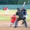 Ryan Johnson of Canadian Sidearm Nation hurls a pitch against Maruko Tatsuya of Team Japan on Friday at Citizen Field. Sidearm Nation took on Team Japan in the first game of the Ramada Inn World Baseball Challenge. Citizen Photo by James Doyle       Citizen Photo by James Doyle       August 12, 2016