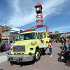 Prince George Fire/Rescue Service rescue truck was one of 14 pieces of heavy equipment, big rigs and emegancy vehicles that was on display for the Touch a Truck event presented by the Prince George Public Library in Canada Games Plaza Friday afternoon. Citizen photo by Brent Braaten   Aug 19 2016