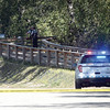Police incident at Cottonwood Island Park Friday. The police also had River Road Closed from the park to Spruce City Wildlife Fish Hatchery. Citizen photo by Brent Braaten     Aug 19 2016