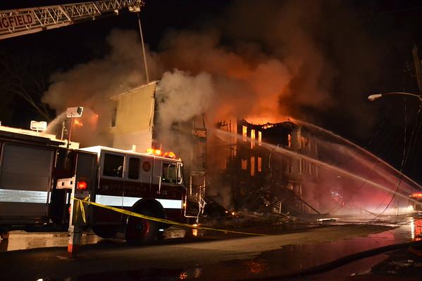 2nd Alarm, 270-272 Centre Street, Springfield, MA 1/1/16