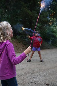 Sparkler? Or magic wand?