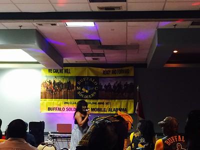 Alabama Buffalo Soldier MC Mardi Gras In May