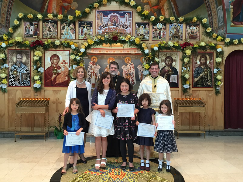 Ann Arbor Greek School Graduation