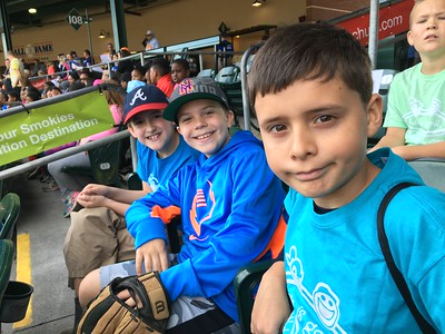 April 11 - Quinn Class Trip to Smokies Baseball Game