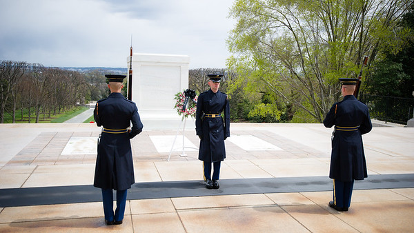 10. Tomb of the Unknown Soldier/Changing of the Guard