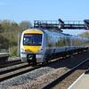 Chiltern Railways Mainline Class 168 Clubman no. 168108 passing through Princes Risborough.