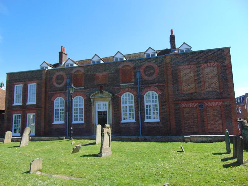 The original Aylesbury Grammar School.