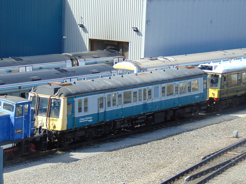 Chiltern Railways Class 121 Bubble Car no. 960014 (121022, 55022) on Aylesbury Depot.