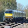 The DVT on the back of the Chiltern Railways Mark 3 set passes Princes Risborough.