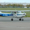 Cessna 152 G-CINA at Coventry Airport.