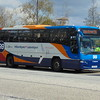 Stagecoach Volvo Plaxton Panther KX58NCN 53615 in Milton Keynes on the 99 to Luton Airport.
