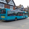 Arriva Hemel Hempstead 2 branded Volvo Wright Eclipse LT63UNN 3969 in Tring on the 500 to Aylesbury.