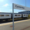 Cambridge station, with an Abellio Greater Anglia Class 317 present.