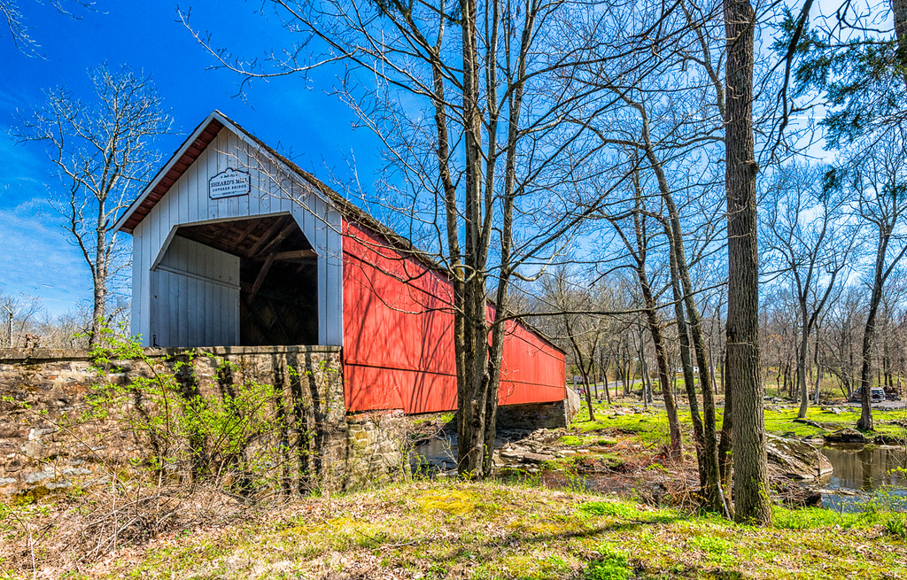 Sheard's Mill Covered Bridge 1873