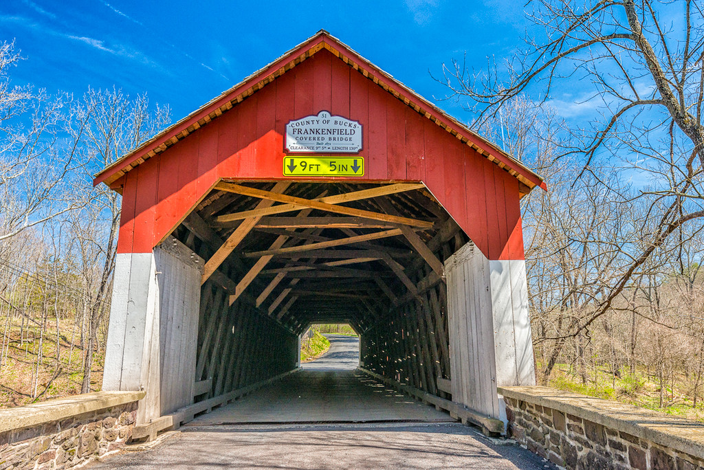 Frankenfield Covered Bridge 1872