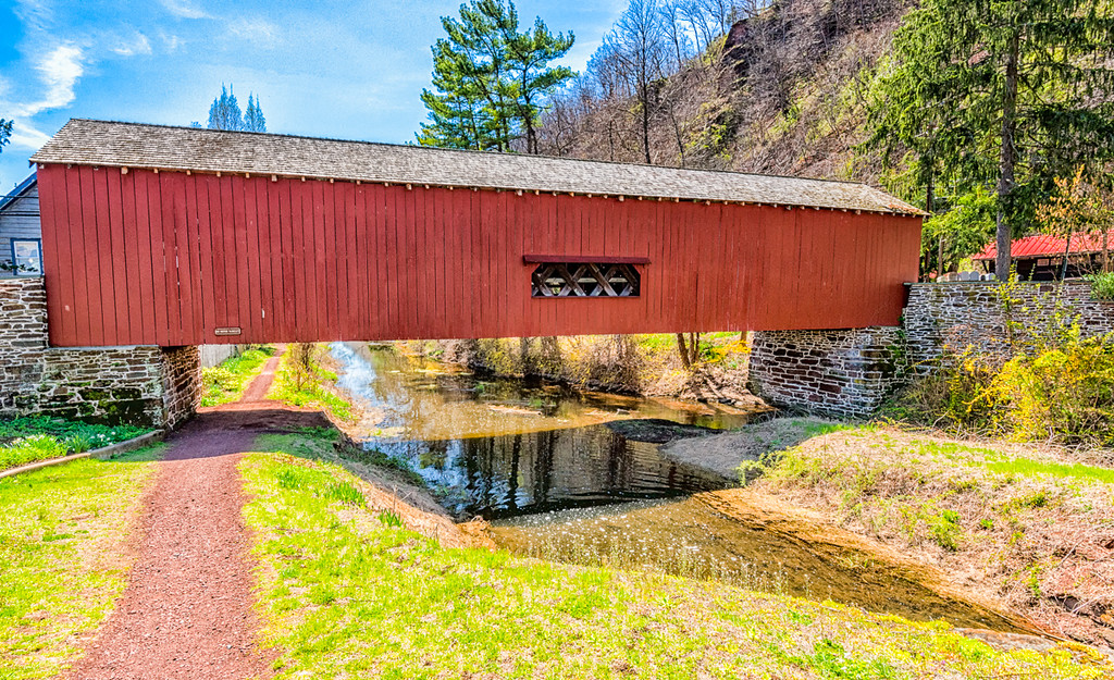 Uhlerstown Covered Bridge 1832