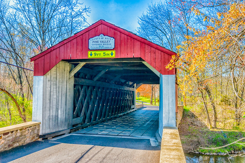 Pine Valley Covered Bridge 1842