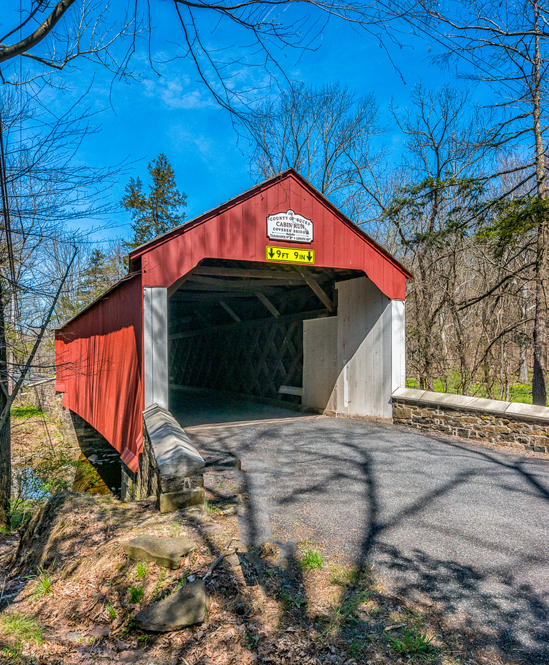 Cabin Run Covered Bridge 1871