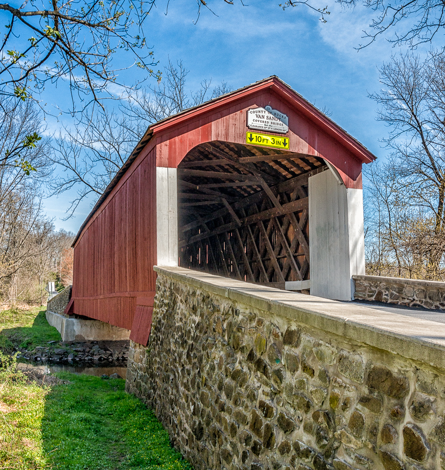 Van Sant Covered Bridge 1875
