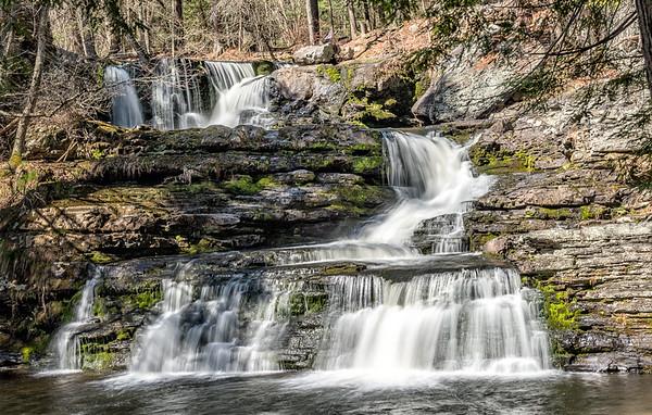 Pocono Mountains Waterfalls
