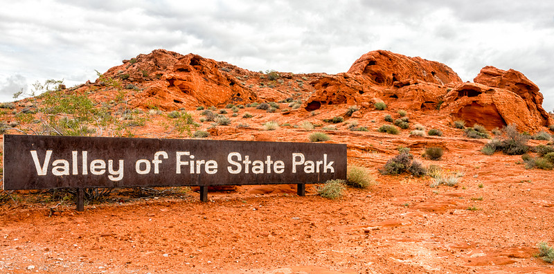 Valley of Fire east entrance