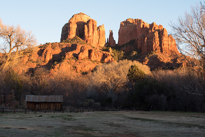 Castle Rock and barn