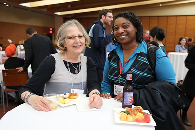 Janet Jensen of the School of Music and LaRuth McAfee of Diversity, Inclusion, and Funding